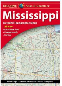 Mississippi Atlas & Gazetteer by DeLorme
