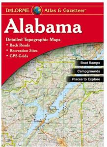 Alabama Atlas & Gazetteer by DeLorme