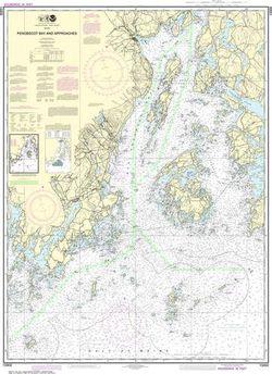 Nautical Chart 13302 Penobscot Bay