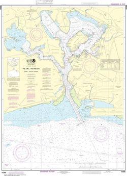 Nautical Chart 19366 - Pearl Harbor