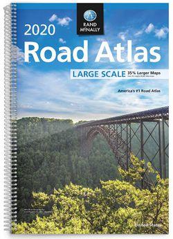 2020 USA Road Atlas (Large Spiral)