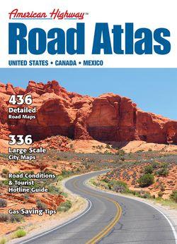 US Road Atlas - Large - by America Highway