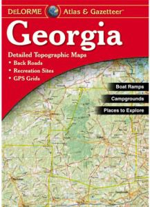 Georgia Atlas & Gazetteer by DeLorme
