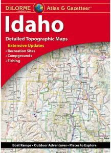 Idaho Atlas & Gazetteer by DeLorme