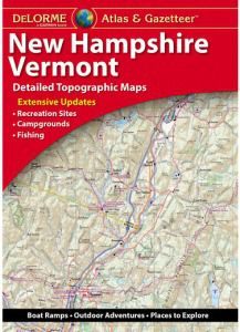 New Hampshire  & Vermont Atlas & Gazetteer by DeLorme