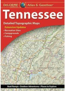 Tennessee Atlas & Gazetteer by DeLorme