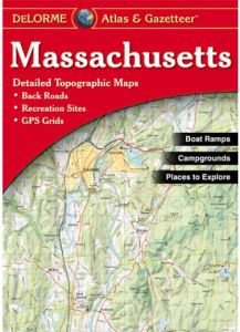 Massachusetts Atlas & Gazetteer by DeLorme