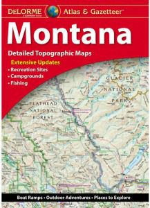 Montana Atlas & Gazetteer by DeLorme