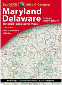 Maryland & Delaware Atlas & Gazetteer by DeLorme