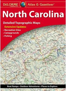 North Carolina Atlas & Gazetteer by DeLorme