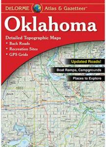 Oklahoma Atlas & Gazetteer by DeLorme