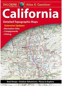 California Atlas & Gazetteer by DeLorme