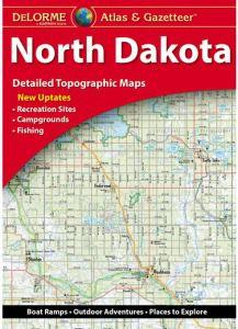 North Dakota Atlas & Gazetteer by DeLorme