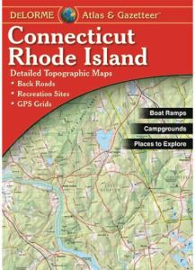 Connecticut & Rhode Island Atlas & Gazetteer by DeLorme