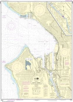 Puget Sound Nautical Charts by NOAA