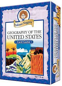 Professor Noggin's Geography of the US Trivia Cards