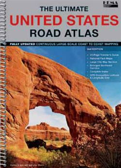 United States Road Atlas Spiral Bound by Hema