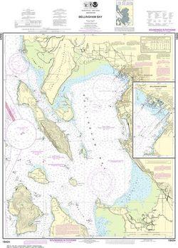 NOAA Chart 18424 - Bellingham Bay, Bellingham Harbor