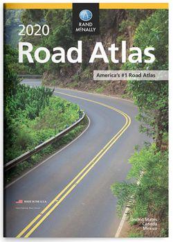 2020 Road Atlas USA