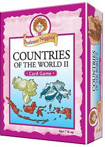 Professor Noggin's Countries of the World Part 2 Trivia Cards