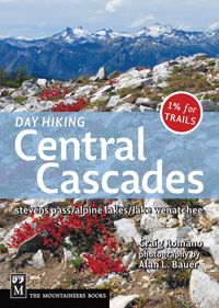 Day Hiking Central Cascades Book