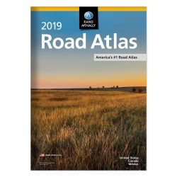 2019 Road Atlas USA by Rand McNally