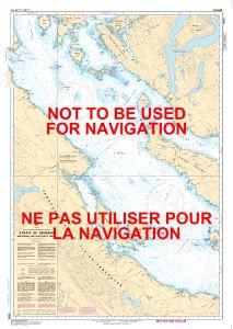 Canadian Nautical Chart 3513 - Strait of Georgia, North Portion