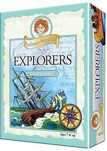 Professor Noggin's Explorers Trivia Cards
