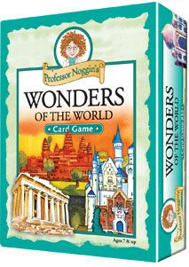 Professor Noggin's Wonders of the World Trivia Cards