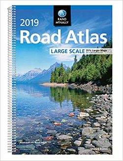 2019 USA Road Atlas - Large Scale - by Rand McNally