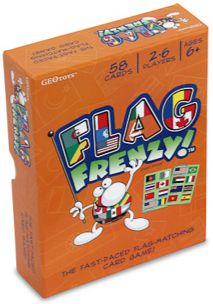 Flag Frenzy Card Game