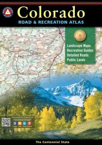 Colorado Recreational Atlas by Benchmark