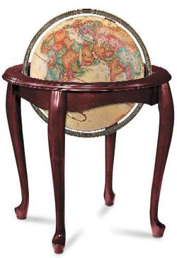 Queen Anne World Globe - 16