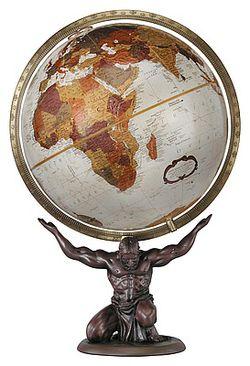 Atlas World Globe 12