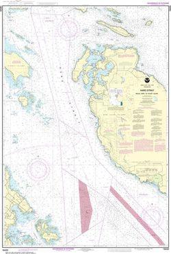 NOAA Chart 18433 - Haro Strait Middle Bank to Stuart Island