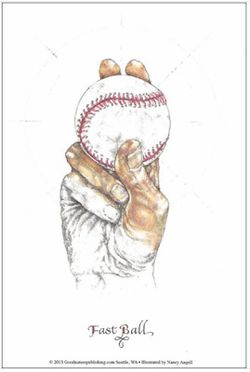 Illustration of a Baseball Pitch: The Fastball