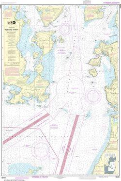 NOAA Chart 18429 - Rosario Strait, Southern Part