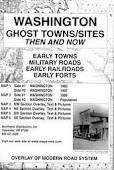 Washington State Ghost Towns Map