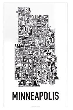 Minneapolis Neighborhood Map