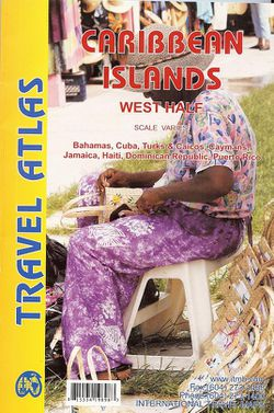 Caribbean, West Road Atlas by ITM