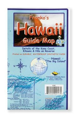 Big Island of Hawaii Guide Map by Franko