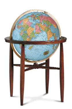 Finley World Globe -  20