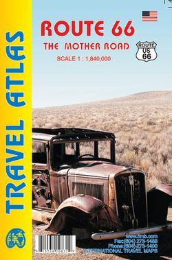 Route 66 Road Atlas by ITM