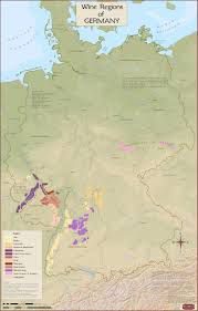 Germany Wine Region Map