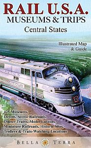 U.S. Rail Map, Central States