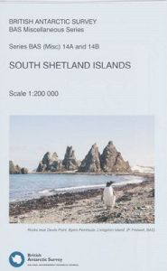 South Shetland Islands Topographic Map