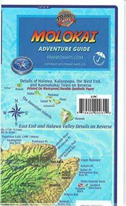 Molokai Guide Map by Franko