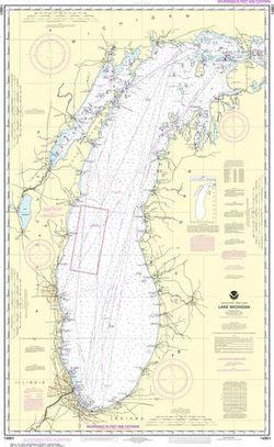 Nautical Chart 14901 - Lake Michigan