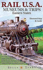 U.S. Rail Map, Eastern States