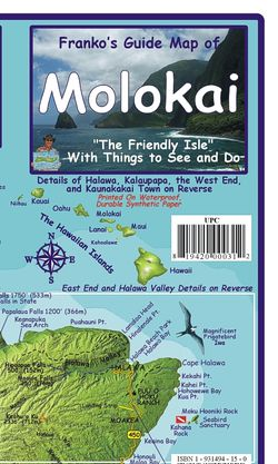 Molokai Guide Map by Franko